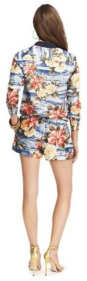 Juicy Couture Maui Floral Silk Romper