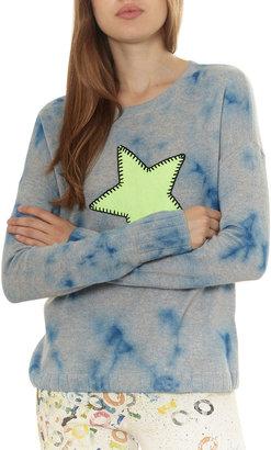 LISA TODD Star Struck Tie-Dye Cashmere Sweater