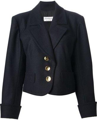 Saint Laurent Vintage cropped jacket