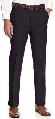 Lauren Ralph Lauren Solid Linen Dress Pants $125 thestylecure.com
