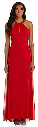 JS Collections Necklace Gown