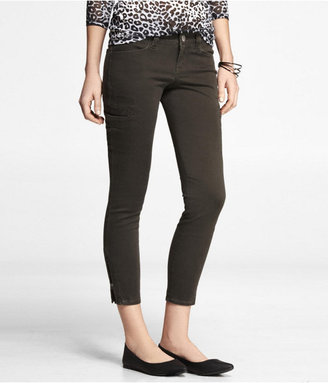 Express Ankle Zip Cargo Legging