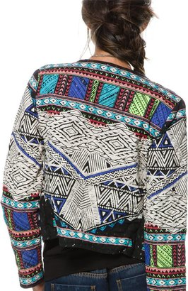 Billabong Botswana Cropped Quilted Jacket