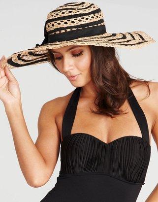 Seafolly Shady Lady Bo Derek Hat
