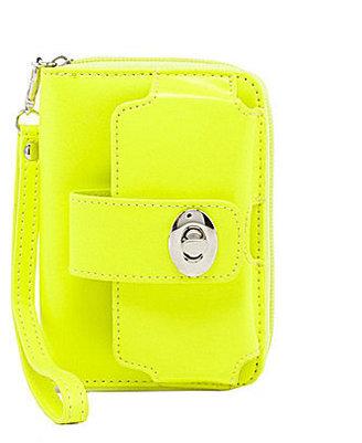 Kate Landry Neon Cell Phone Wristlet