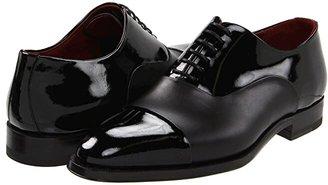 Magnanni Cesar (Black) Men's Lace Up Cap Toe Shoes