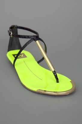 Dolce Vita Archer Sandal Neon Yellow/Black