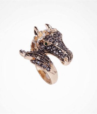 Express Pave Horse Wrap Ring