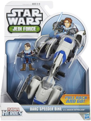 Star Wars Hasbro Jedi Force Barc Speeder Bike w/ Anakin