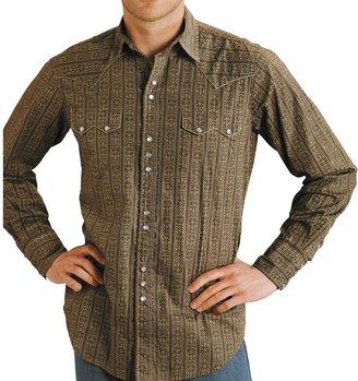 Roper Wallpaper Print Shirt (For Men)