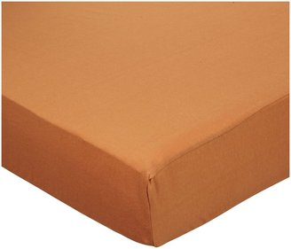 American Baby Company Jersey Crib Sheet - Burnt Orange
