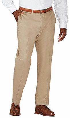Haggar Work to Weekend Flat-Front Pants-Big & Tall