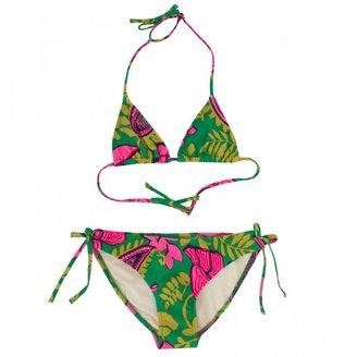 Milly Minis Jade floral Bikini