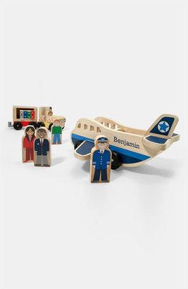 Melissa & Doug 'Whittle World - Airplane' Wooden Toy Set