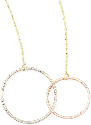 Lana Magnetic Two-Circle Necklace