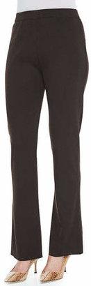 Misook Boot-Cut Knit Pants, Plus Size