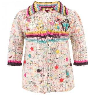 Catimini Multi-Color Knit Cardigan