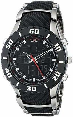 U.S. Polo Assn. Sport Men's US8163 Bracelet Watch with and Gun Metal Band
