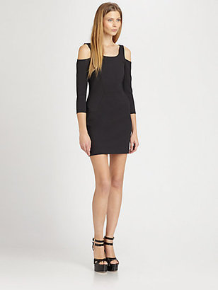 Autograph Addison Bedford Fitted Cutout Dress