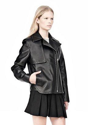 Alexander Wang Boxy Leather Jacket