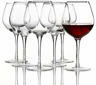 Lenox tuscany red wine glasses 6 piece value set shopstyle home - Lenox stemless red wine glasses ...