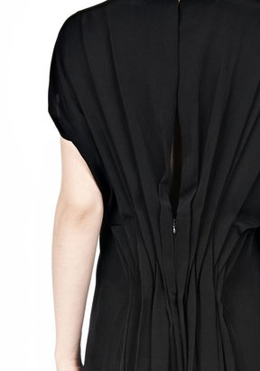 Alexander Wang Vacuum Pressed Irregular Pleat Back Dress