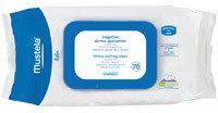 Mustela DermoSoothing Wipes Delicately Fragranced 70ct