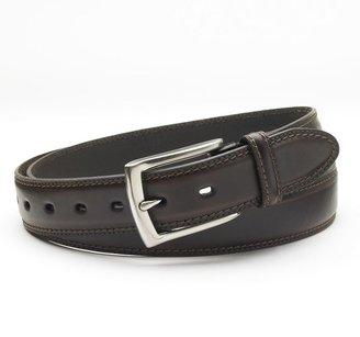 Dockers® Stretch & Stitch Leather Belt - Big & Tall $34 thestylecure.com