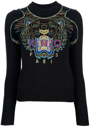 Kenzo 'Cotton Tiger Pullover'