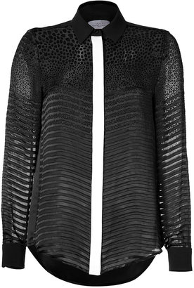 Preen by Thornton Bregazzi Jett Shirt in Black