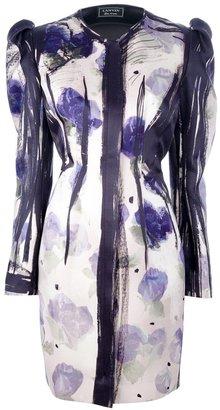 Lanvin floral boxy dress