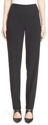 Women's Armani Collezioni Straight Leg Wool Pants $595 thestylecure.com