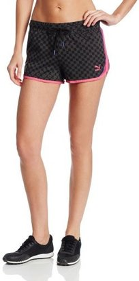 Puma Women's Printed Knit Shorts
