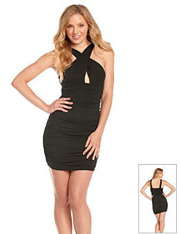 GUESS Ruched Dress