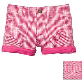 Osh Kosh OshKosh BGosh Girls' 2T-4T Pink Gingham Woven Short