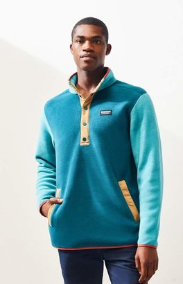 Burton Teal Hearth Polar Fleece Pullover