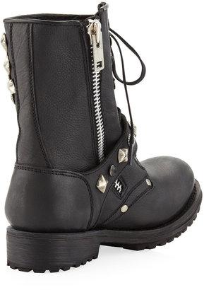 Ash Ryanna Multi-Stud Boot, Black