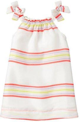 Gap Striped bow dress