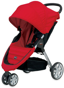 Britax B-Agile Stroller and Accessories - Red