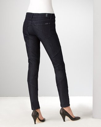 """7 For All Mankind Gia Couture"""" Skinny Jeans in Dark Portugal Wash"""