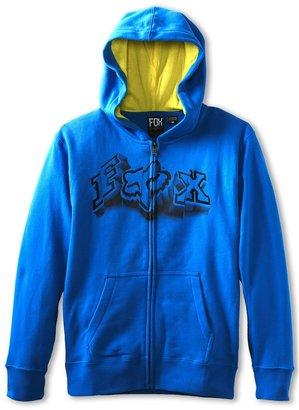 Fox Unruler Hoodie (Big Kids) (Blue) - Apparel