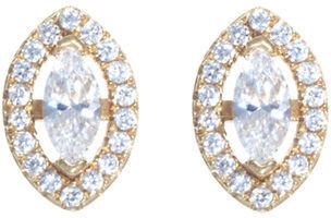 Crislu Marquise-Cut Cubic Zirconia Stud Earrings