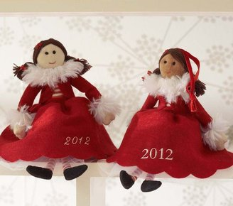 Pottery Barn Kids Doll Ornament