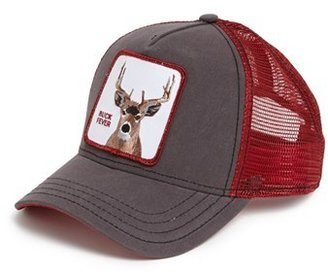 Men's Goorin Brothers 'Animal Farm - Buck Fever' Trucker Cap - Brown $30 thestylecure.com