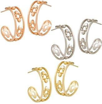 Disney Mickey Mouse Hoop Earrings 18K