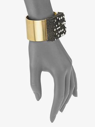 Vionnet Crystal Cuff Bracelet