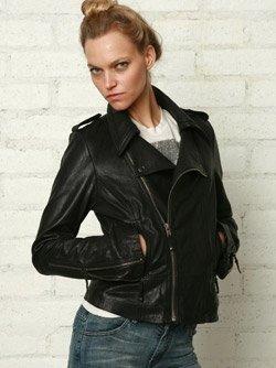 Ever Langdale Moto Leather Jacket