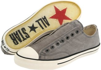 Converse by John Varvatos - Chuck Taylor Vintage Slip (Charcoal/Milk) - Footwear