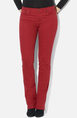Lauren Ralph Lauren Slim Straight Leg Colored Jeans (Petite) (Online Exclusive)