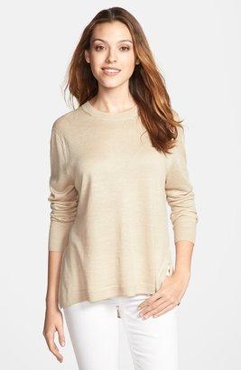 MICHAEL Michael Kors High/Low Hem Sweater